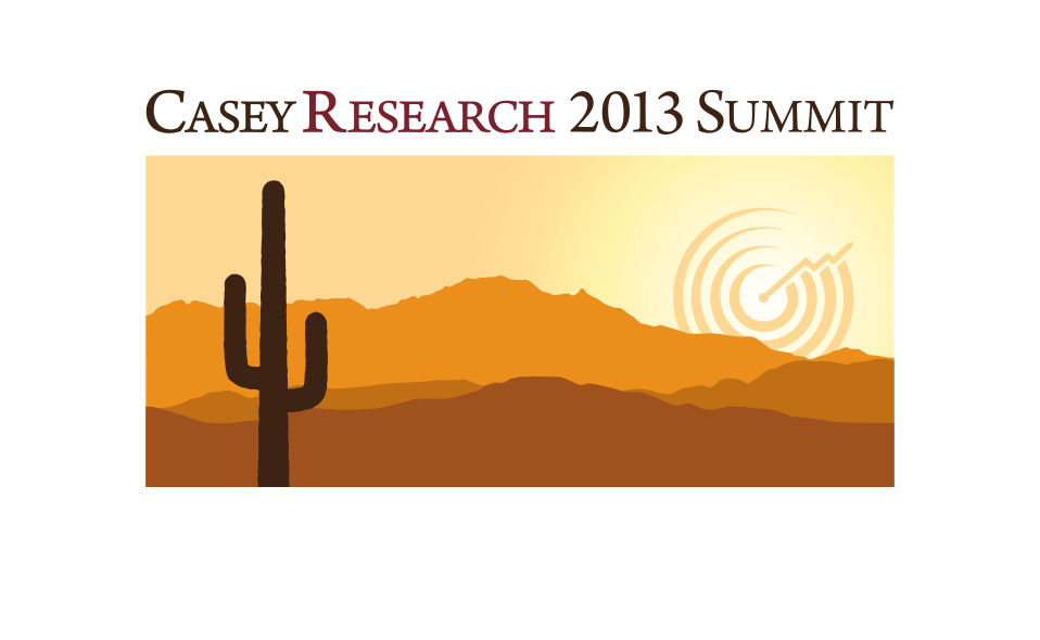 Logo for an investors' conference held in Tucson, Arizona (more in Print and Packaging Sections).