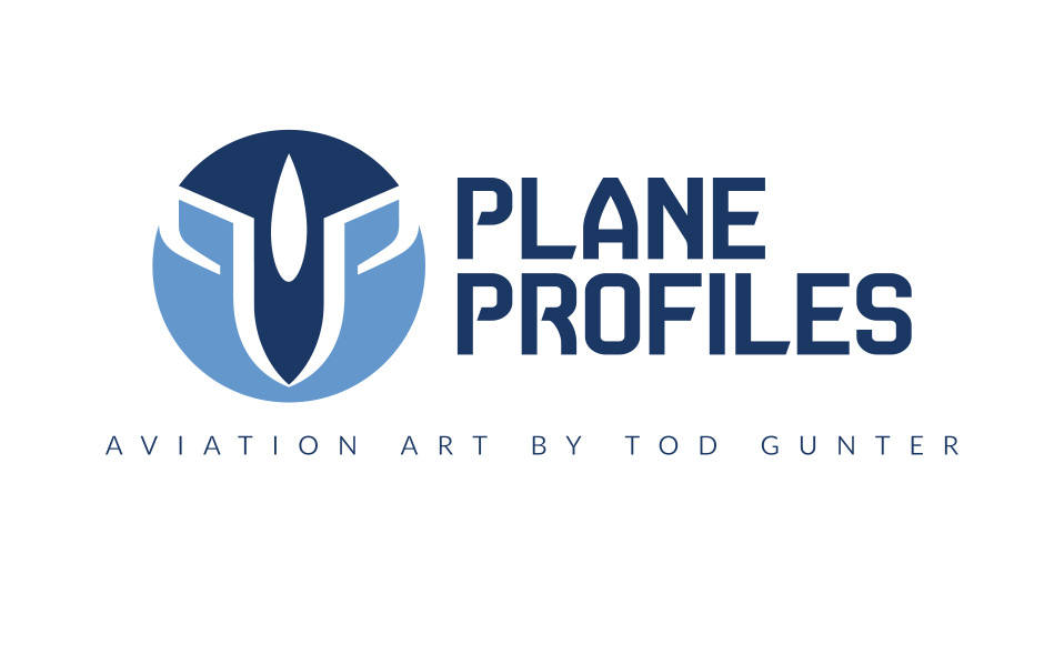 Logo for my former aviation art business (more in Illustration Section).